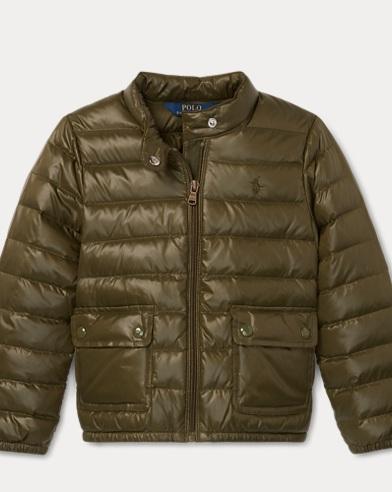 폴로 랄프로렌 여아용 퀼딩 다운 패딩 올리브 Polo Ralph Lauren Quilted Down Jacket,Spanish Olive