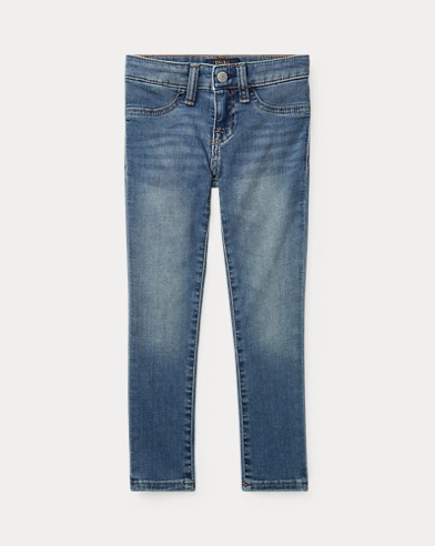 폴로 랄프로렌 Polo Ralph Lauren Aubrie Denim Legging,Lucinda Wash