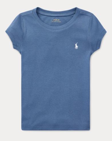 폴로 랄프로렌 Polo Ralph Lauren Cotton-Modal T-Shirt,Carson Blue