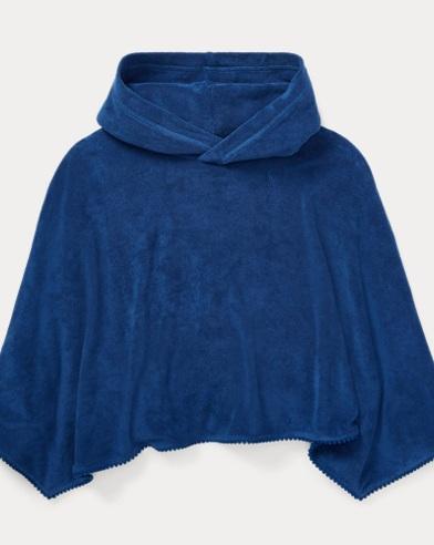 폴로 랄프로렌 Polo Ralph Lauren Hooded Terry Cover-Up,Vineyard Royal
