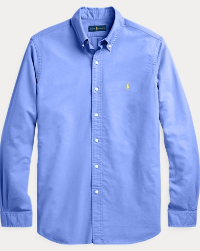 폴로 랄프로렌 클래식핏 옥스포드 셔츠 - 블루 Polo Ralph Lauren Classic Fit Oxford Shirt,Harbor Island Blue