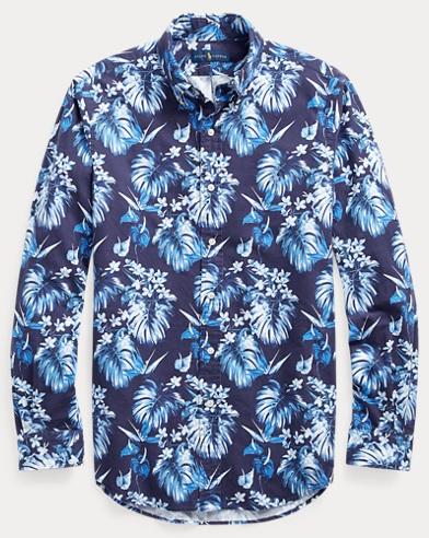 폴로 랄프로렌 클래식핏 플로럴 셔츠 Polo Ralph Lauren Classic Fit Floral Shirt,Tonal Floral