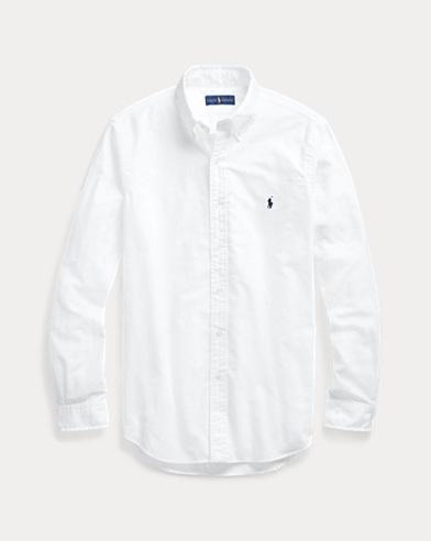 폴로 랄프로렌 클래식핏 옥스포드 셔츠 - 화이트 Polo Ralph Lauren Classic Fit Oxford Shirt,White
