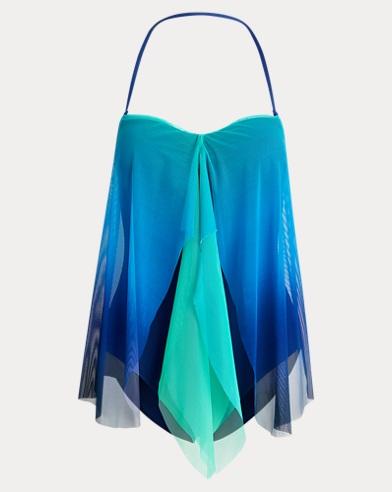 폴로 랄프로렌 Polo Ralph Lauren Flyaway Convertible Swimsuit,Sapphire