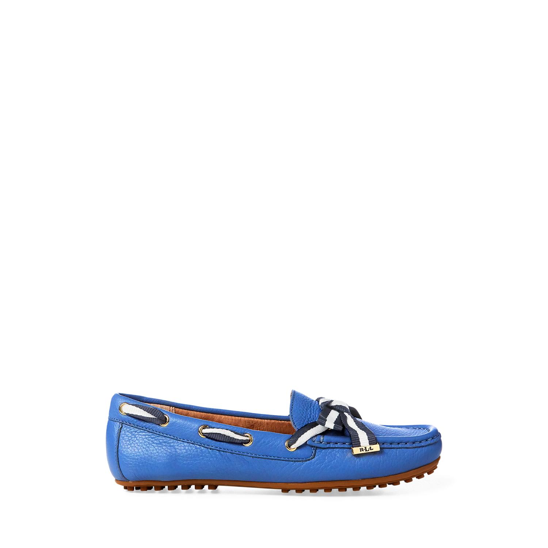 d8129e7b97e Ralph Lauren Becka Leather Loafer