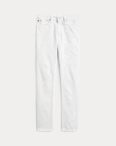 폴로 랄프로렌 스트레이트 청바지 Polo Ralph Lauren Varick Slim Straight Jean,Hdn White Stretch