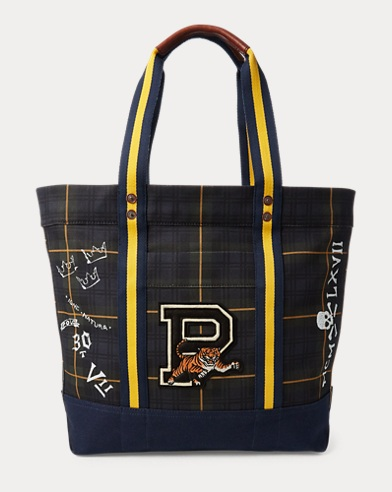 폴로 랄프로렌 Polo Ralph Lauren Gordon Tartan Tiger Tote,Multi