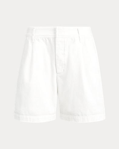 폴로 랄프로렌 Polo Ralph Lauren Twill Shorts,Deckwash White