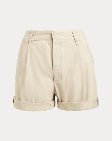 폴로 랄프로렌 Polo Ralph Lauren Twill Shorts,Ranch Cream