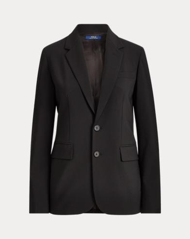 폴로 랄프로렌 Polo Ralph Lauren Wool-Blend Blazer,Polo Black