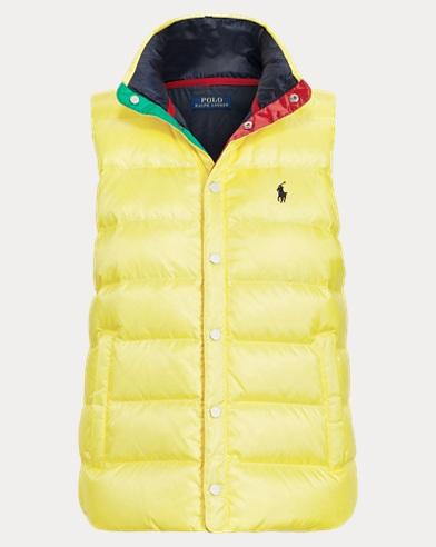 폴로 랄프로렌 Polo Ralph Lauren P-93 Down Vest,Lemon Crush