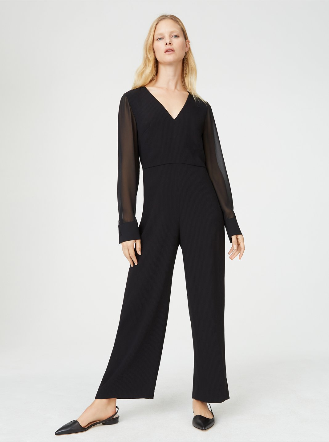클럽 모나코 Austeyah 점프수트 Club Monaco Austeyah Jumpsuit,Black