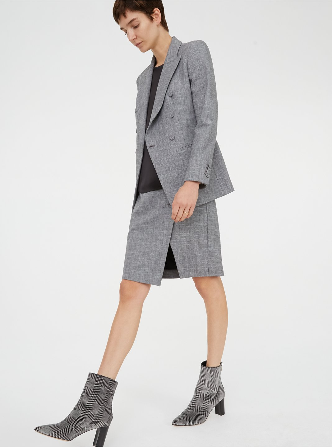 클럽 모나코 Aditha 블레이저 Club Monaco Aditha Blazer,Grey