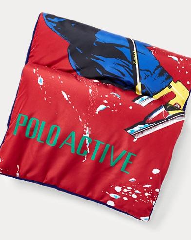폴로 랄프로렌 Polo Ralph Lauren Ski 92 Puffer Scarf,RL 2000 Red