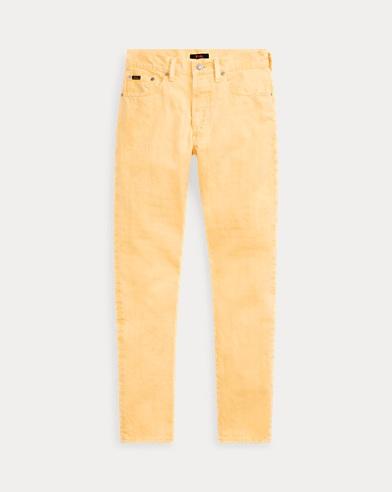 폴로 랄프로렌 Polo Ralph Lauren Callen High-Rise Slim Jean,Yellow