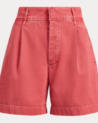 폴로 랄프로렌 Polo Ralph Lauren Twill Shorts,Nantucket Red