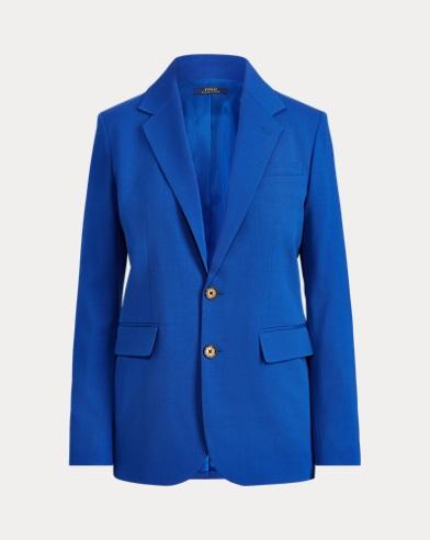 폴로 랄프로렌 Polo Ralph Lauren Stretch Wool Blazer,Sistine Blue