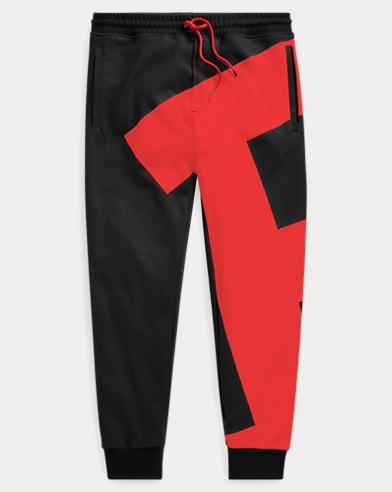 폴로 랄프로렌 Polo Ralph Lauren Double-Knit Graphic Jogger,Polo Black