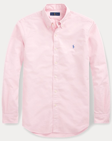 폴로 랄프로렌 Polo Ralph Lauren Classic Fit Oxford Shirt,Taylor Rose