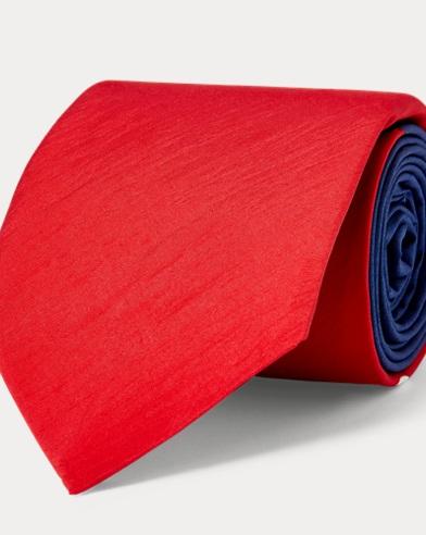 폴로 랄프로렌 Polo Ralph Lauren Print Narrow Tie,Navy/Red