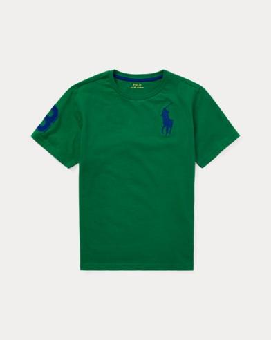 폴로 랄프로렌 Polo Ralph Lauren Cotton Jersey Crewneck T-Shirt,Kayak Green