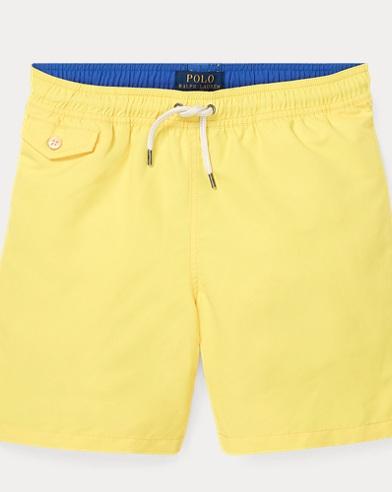 폴로 랄프로렌 보이즈 트래블러 수영복 - 옐로우 Polo Ralph Lauren Traveler Swim Trunk,Coastal Yellow
