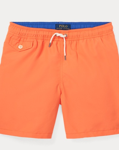 폴로 랄프로렌 Polo Ralph Lauren Traveler Swim Trunk,Flare Orange