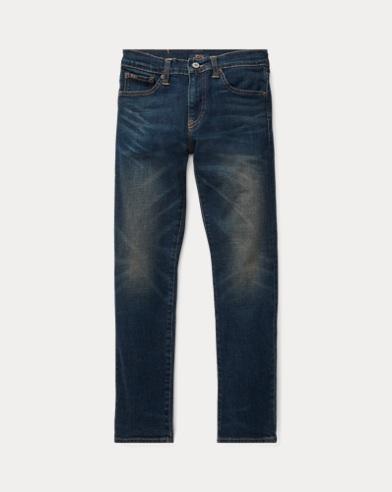 폴로 랄프로렌 보이즈 청바지 Polo Ralph Lauren Sullivan Slim Stretch Jean,Adams Wash