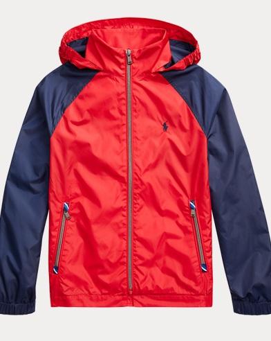 폴로 랄프로렌 보이즈 자켓 Polo Ralph Lauren Packable Hooded Jacket,Rl2000 Red