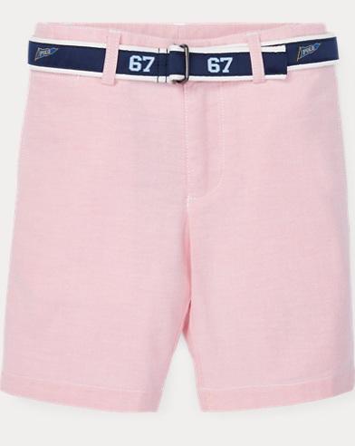 폴로 랄프로렌 Polo Ralph Lauren Slim Fit Belted Stretch Short,Bsr Pink