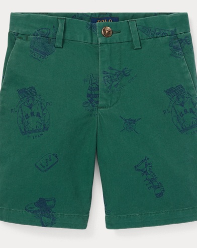 폴로 랄프로렌 남아용 반바지 Polo Ralph Lauren Slim Fit Stretch Chino Short,Kelly Green