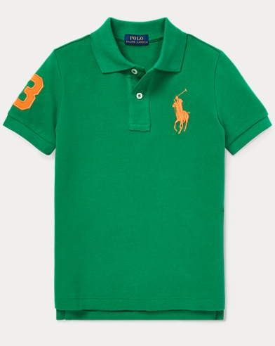 폴로 랄프로렌 남아용 폴로셔츠 Polo Ralph Lauren Cotton Mesh Polo Shirt,Kayak Green