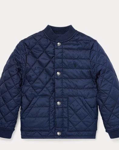 폴로 랄프로렌 남아용 퀼팅 자켓 네이비 Polo Ralph Lauren Quilted Jacket, Newport Navy 474134