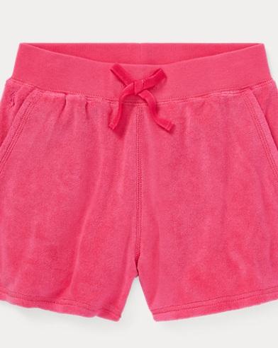 폴로 랄프로렌 Polo Ralph Lauren Cotton-Blend-Terry Short,Ultra Pink