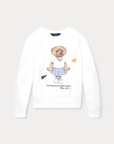 폴로 랄프로렌 Polo Ralph Lauren Cricket Bear Sweatshirt,White