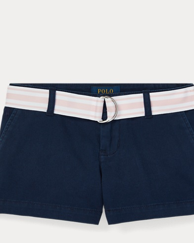 폴로 랄프로렌 여아용 반바지 Polo Ralph Lauren Chino Short,French Navy