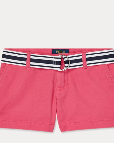 폴로 랄프로렌 여아용 반바지 Polo Ralph Lauren Chino Short,Ultra Pink