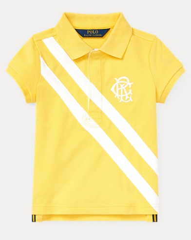 폴로 랄프로렌 Polo Ralph Lauren Stretch Mesh Polo Shirt,Signal Yellow