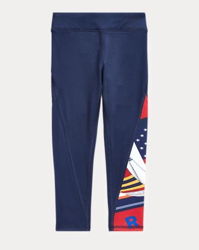 폴로 랄프로렌 여아용 레깅팬츠 Polo Ralph Lauren Sublimation Stretch Legging,Multi