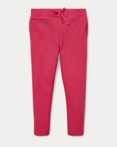 폴로 랄프로렌 Polo Ralph Lauren French Terry Legging,Ultra Pink