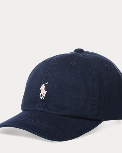 폴로 랄프로렌 Polo Ralph Lauren Cotton Chino Baseball Cap,French Navy