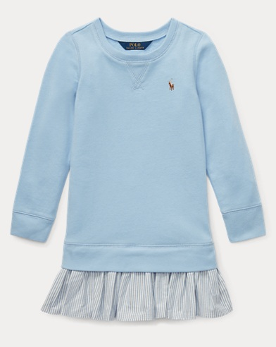 폴로 랄프로렌 Polo Ralph Lauren French Terry Dress,Elite Blue