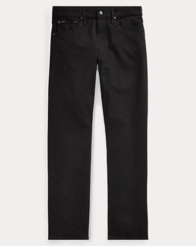 폴로 랄프로렌 Polo Ralph Lauren Hampton Relaxed Straight Jean,Hdn Black Stretch