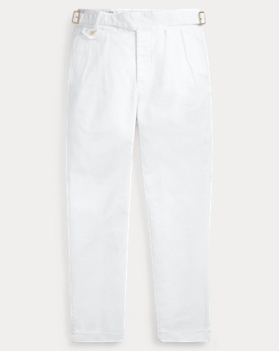 폴로 랄프로렌 Polo Ralph Lauren Classic Fit Pleated Pant,White