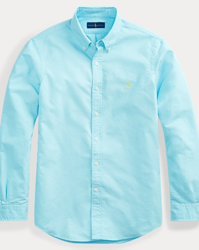 폴로 랄프로렌 Polo Ralph Lauren Classic Fit Oxford Shirt,Harmmond Blue