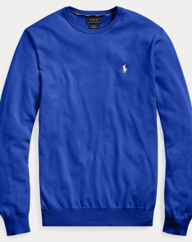 폴로 랄프로렌 Polo Ralph Lauren Cotton Crewneck Sweater,Heritage Royal