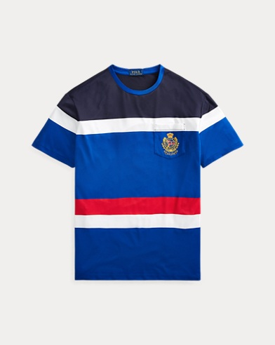 폴로 랄프로렌 Polo Ralph Lauren Classic Fit Performance Tee,Sapphire Star Multi