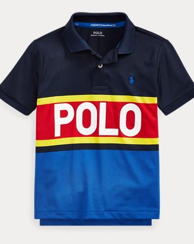 폴로 랄프로렌 남아용 퍼포먼스 라일사 반팔 폴로셔츠 Polo Ralph Lauren Performance Lisle Polo Shirt,Newport Navy Multi