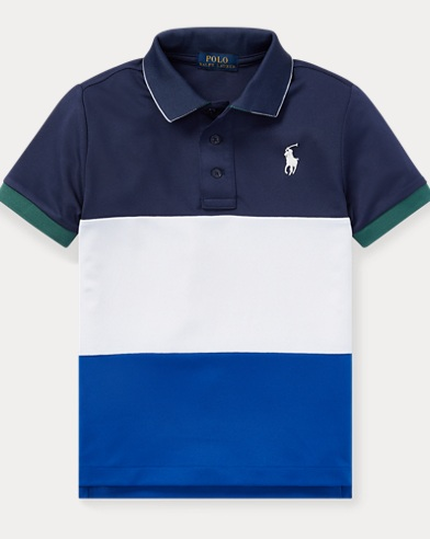 폴로 랄프로렌 남아용 퍼포먼스 반팔 폴로셔츠 Polo Ralph Lauren Performance Polo Shirt,Sapphire Star Multi