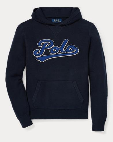 폴로 랄프로렌 Polo Ralph Lauren Cotton Hooded Sweater,헌터 Hunter Navy